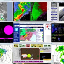 Advanced geosciences weather technology screen shot